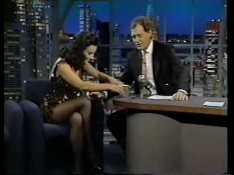 Jennifer Tilly  on Late Night 1993