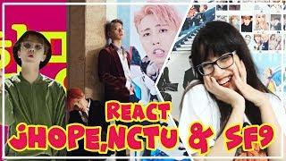 《REAGINDO A JHOPE,NCT U & SF9》[DayDream|Baby Don't Stop|Mamma Mia]