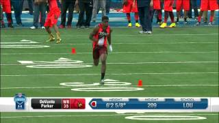 DeVante Parker full workout