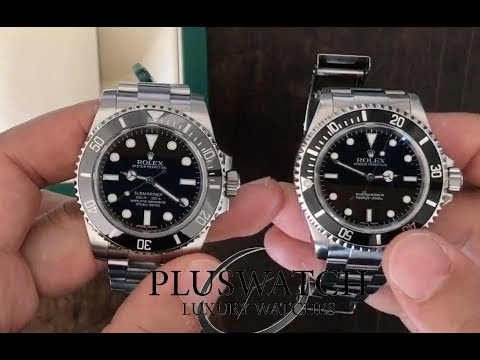 Rolex submariner 114060 vs 14060