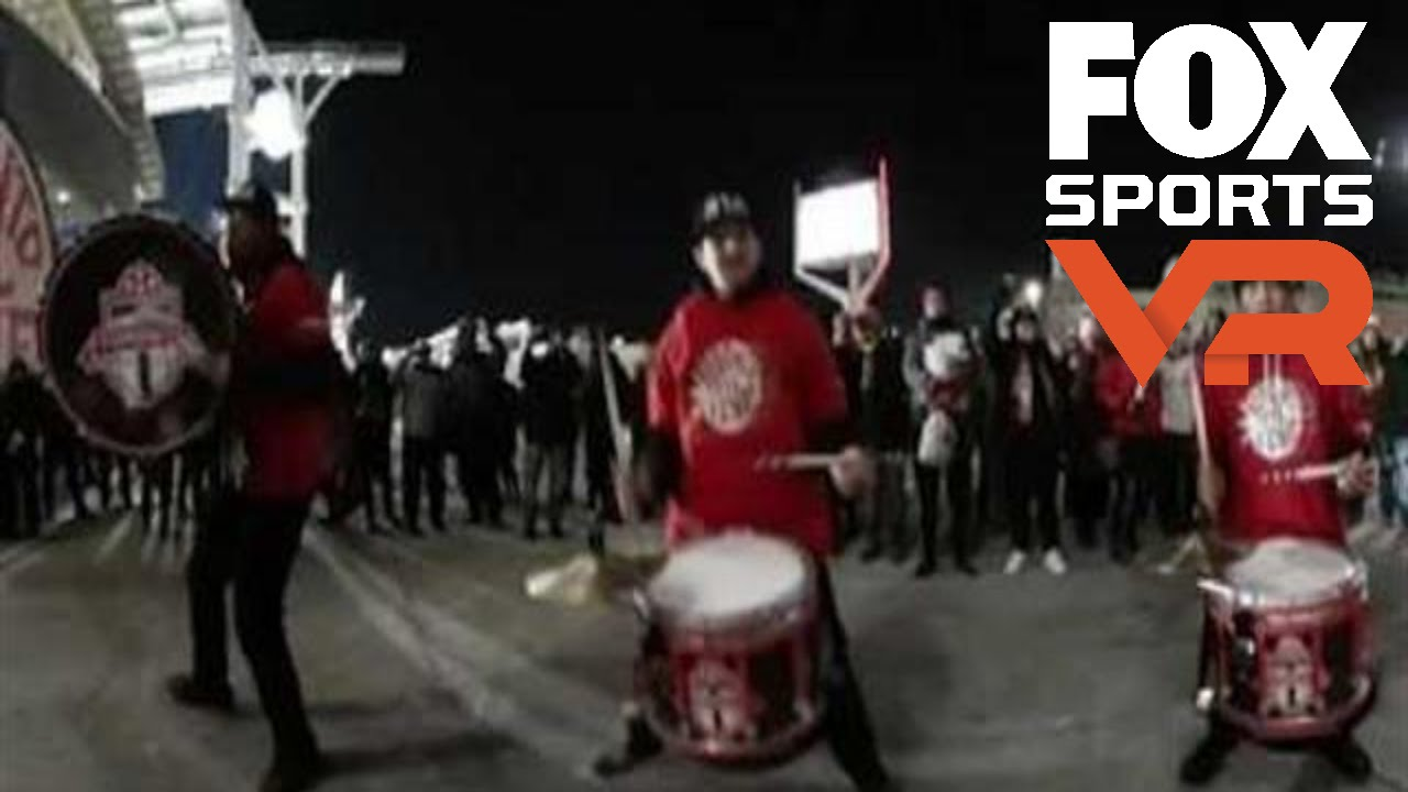 Watch Toronto drumline get fans hyped in 360° | MLS CUP
