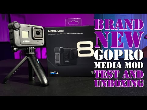 Brand New GoPro Media Mod Test And Unboxing With Samples And Comparison