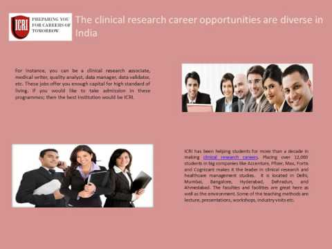 Clinical Research Courses, Clinical Research Institute in india