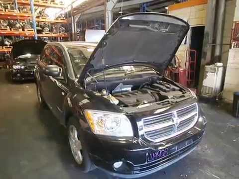 hqdefault wrecking 2007 dodge caliber engine, 2 0, automatic (j14908) youtube 2010 dodge caliber interior fuse box location at crackthecode.co