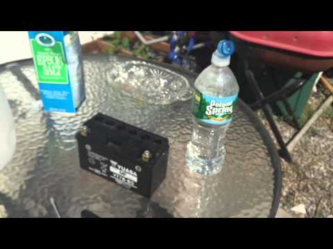 How To Revive A Battery With Epsom Salt