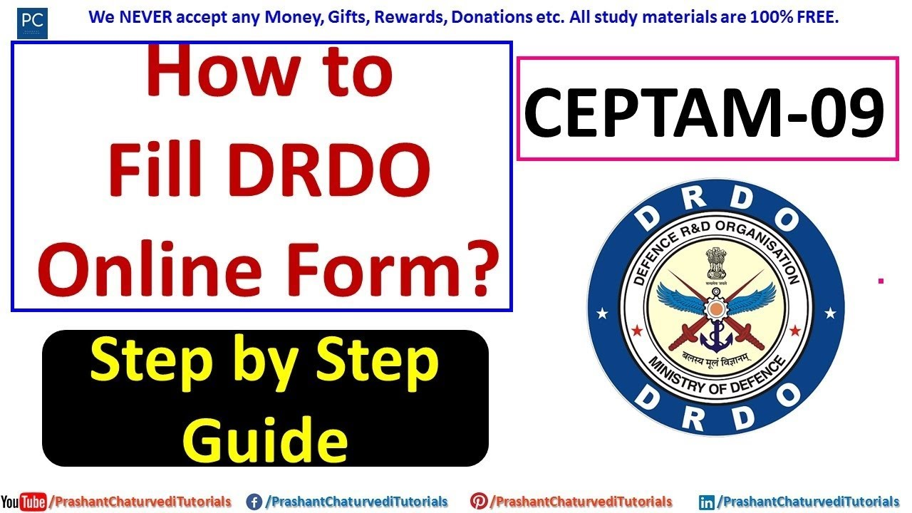 Guide to drdo drdo recruitment 2018 application form array how to fill drdo ceptam online form step by step guide youtube rh youtube fandeluxe Image collections
