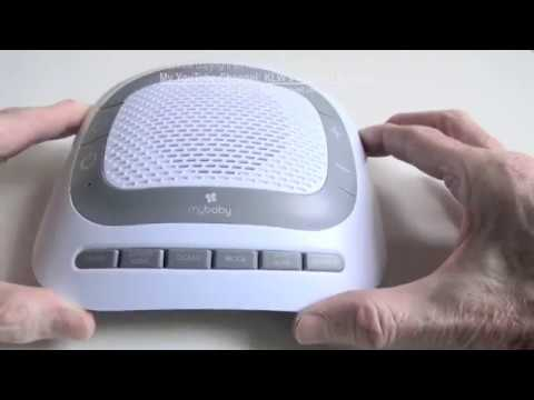 Review of MyBaby Soundspa Portable by HoMedics