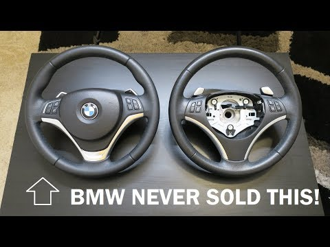 BMW E90 3 Series Sport Steering Wheel Upgrade