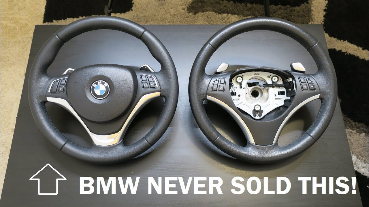 Bmw E90 3 Series Sport Steering Wheel Upgrade Youtube