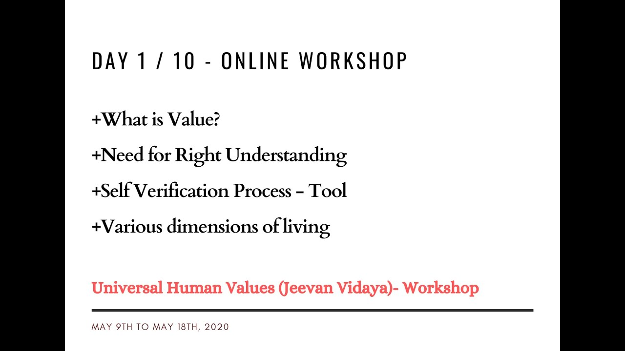 10 Days online workshop by Suman Y