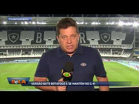 Verdão Bate O Botafogo E Se Mantém No G-4