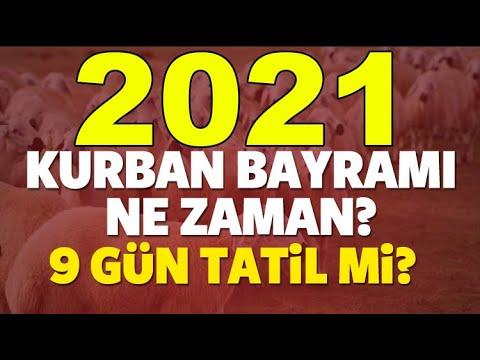2021 Kurban Bayramı Ne zaman? Tatil Kaç Gün?