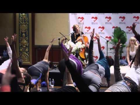 Yoga with Modo Yoga at Big Love Weekend 2016