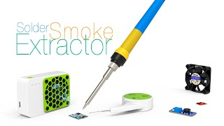 Solder Smoke Extractor  Assembly