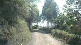 Trocha vereda las encimadas municipio de Marquetalia caldas