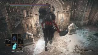 Dark Souls 3 Yhorm the Giant vs Pontiff Sulyvahn - When a Giant is Unleashed!