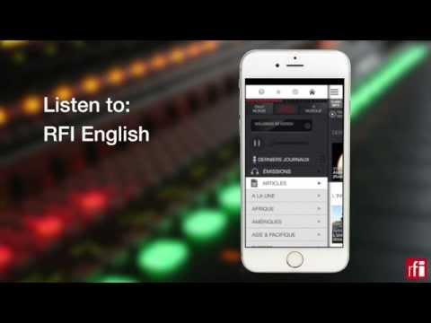 Follow world news with the RFI app (short)