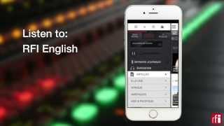 Follow world news with the RFI app (short) screenshot 4