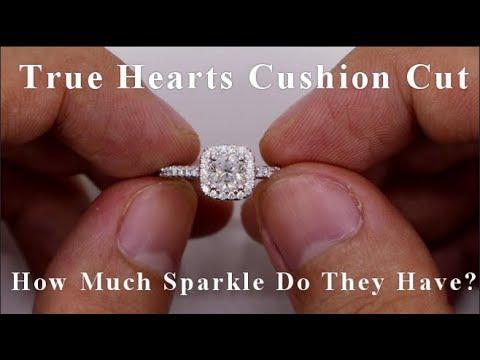 2204b22b15f95 James Allen Signature Cushion Cut Diamond Ring Review