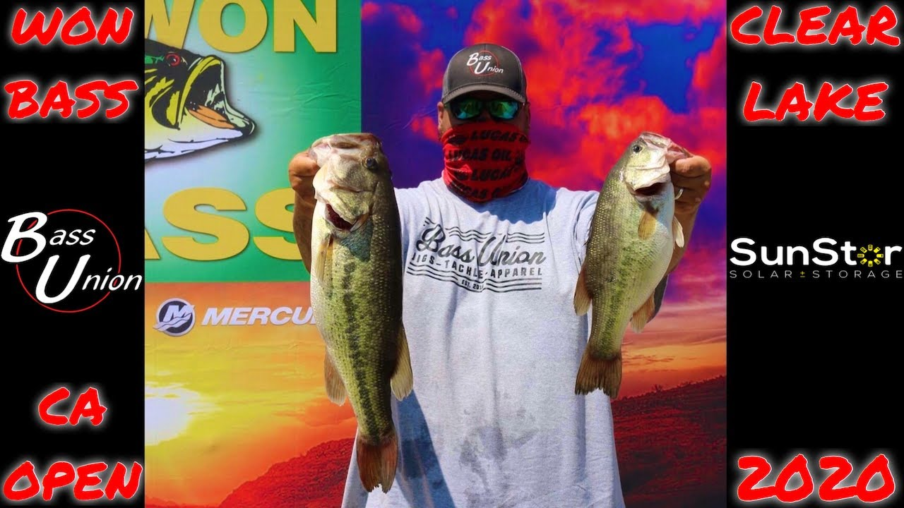 Cashed A Check Fishing My First WON Bass CA Open Tournament at Clear Lake 2020 | Summer Jig Fishing