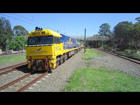 Train Vlog 68 Toongabbie Station- The Indian Pacific