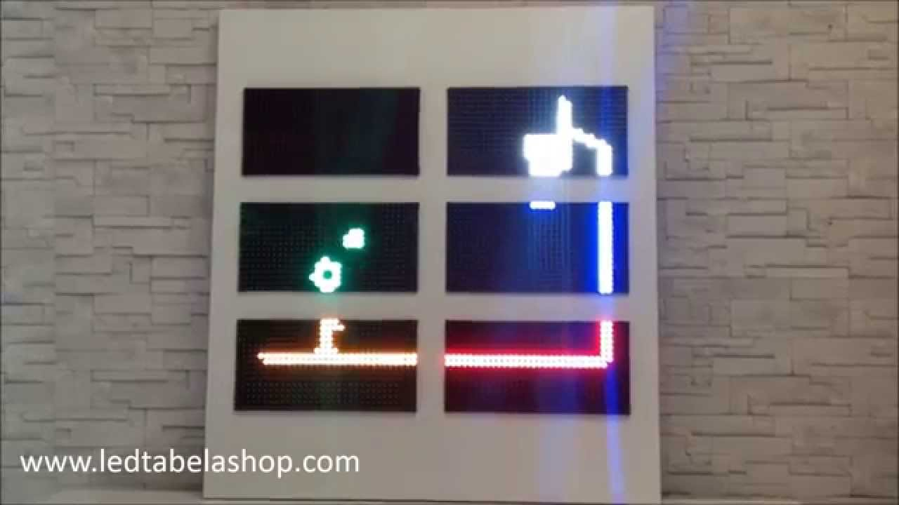 P10 Led Panel Kayan Yazı Hangova