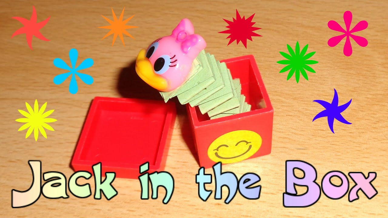 Miniature Jack in the Box Toy - DIY LPS Crafts, Easy Doll Crafts ...