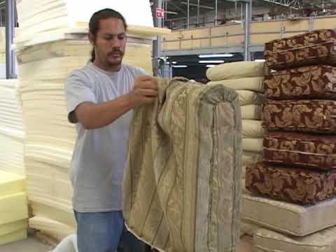Maquina para comprimir cojines solidos cojinera youtube - Cojines para sillas ...