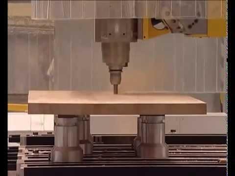 Poważne Produkcja schodów Drawex / Maszyna CNC Maka Pm 270 - YouTube JH14
