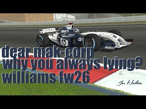 Mak Corp is lying : Part One - Williams F1 FW26 Mod Review