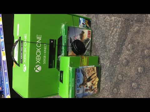 xbox one 500 gb unboxing