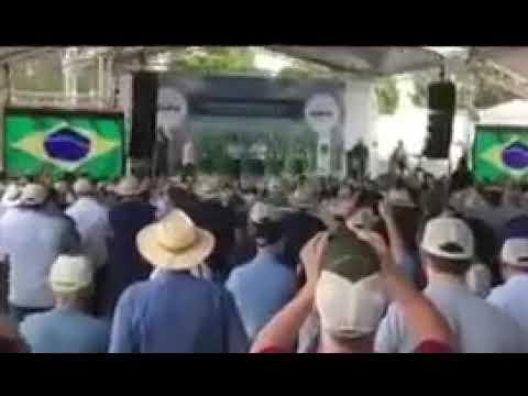 Produtores vaiam Mauro na presença do vice-presidente Mourão - assista o vídeo
