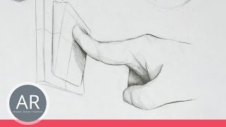 Hände zeichnen lernen. So zeichnest du Hände im Einsatz. Mappenvorbereitungskurs Industriedesign
