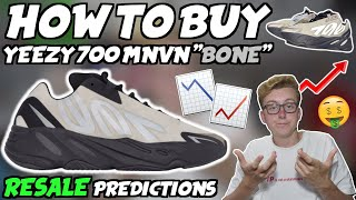 "HOW TO BUY Adidas Yeezy 700 MNVN ""Bone"" 
