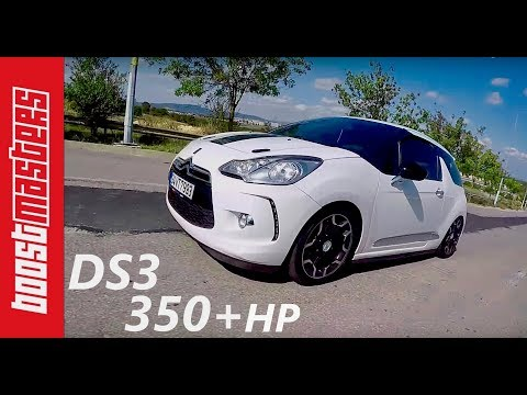 Citroen DS3 1.6Thp  350+ Test (Vlog)
