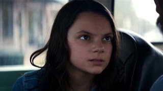 Laura Talks For The First Time Logan Movie Clip 2017