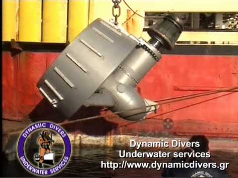Azimuth thruster Repair - DynamicDivers.gr