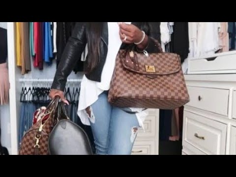 MY ENTIRE BAG COLLECTION + TRY ON HAUL!!! SPEEDY 35 , GUCCI MARMONT, GIFTS FOR HER (VLOGMAS DY 16)