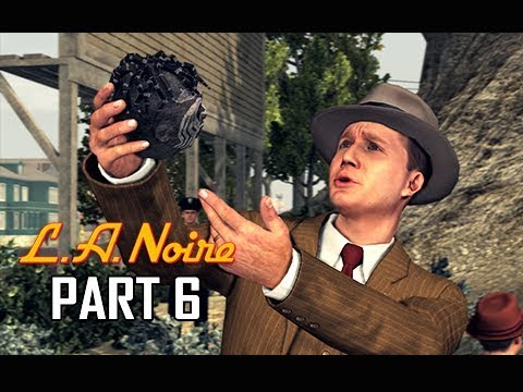 LA NOIRE Gameplay Walkthrough Part 6 - FALLEN IDOL (5 STAR Remaster Let's Play)