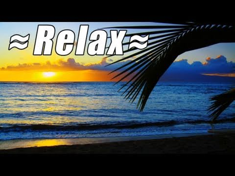 HD HAWAII BEACHES 1 - Music Video Preview ocean sounds relaxation meditation video