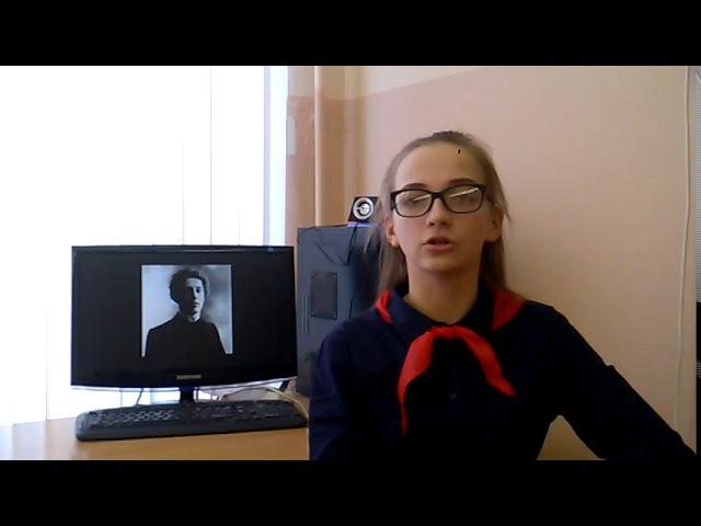Изображение предпросмотра прочтения – МарияШирявская читает произведение «Ночь, улица, фонарь, аптека…» А.А.Блока