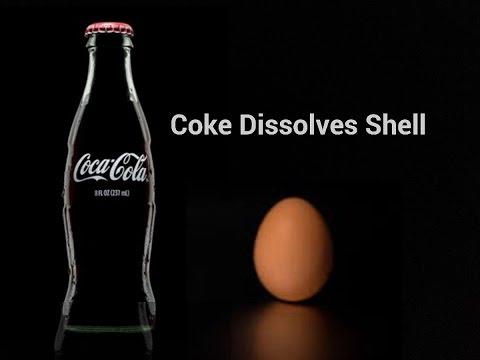 Supermarket Own Brand Coke Dissolved my Egg Shell