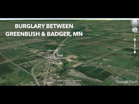 Search For Burglary Suspects In Roseau County