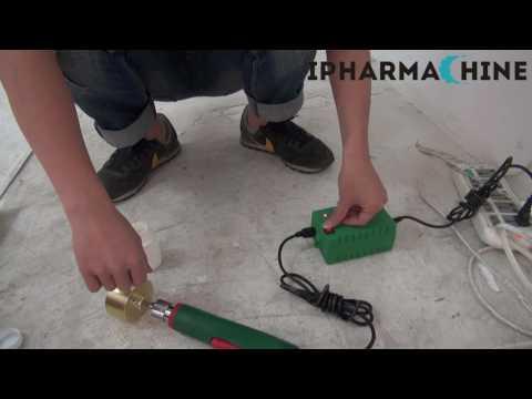110V/220V Handheld Electric Bottle Capping Machine Cap Sealer Sealing Machine