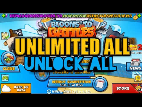 APK MOD BLOON TD 5 UNLIMITED ALL AND UNLOCK ALL LATEST 2017