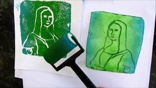 How to make Styrofoam Prints II - IMAGE COPY, TRANSFER or TRACE