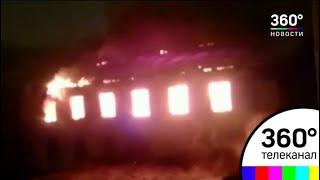 Пожар в здании Военно-морской академии в Петербурге локализован