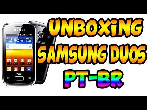 SAMSUNG GALAXY Y DUOS - UNBOXING !!! PT-BR