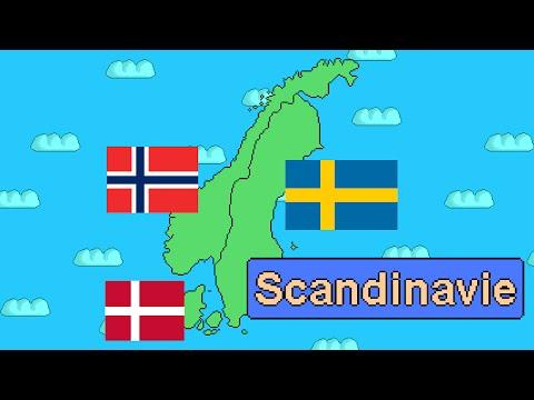 Histoire des pays de la Scandinavie : Danemark, Suède, Norvège