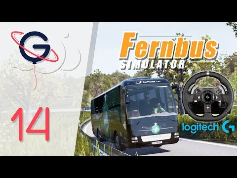 FERNBUS SIMULATOR FR #14 : Volant Logitech G920 (Wheelcam)